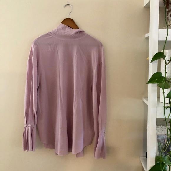 RARE Aritzia Le Fou 100% Silk Blouse | NWT